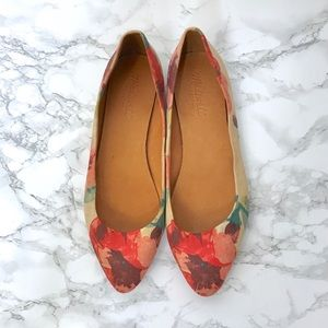 Madewell The Sidewalk Skimmer Flats in Tearose 8